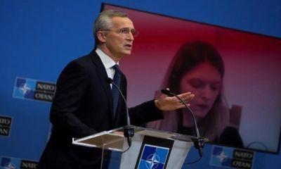 Stoltenberg manifestó que el incremento de la misión en Iraq responde a una decisión de su Gobierno.   Foto: EFE