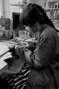Mizuki Takahashi making jewellery