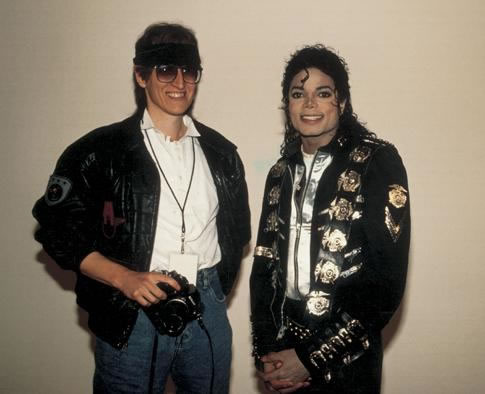 MJ and Gottfried Helnwein