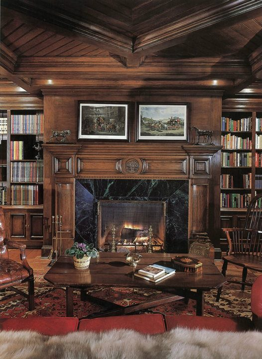 Michael's Library at Neverland