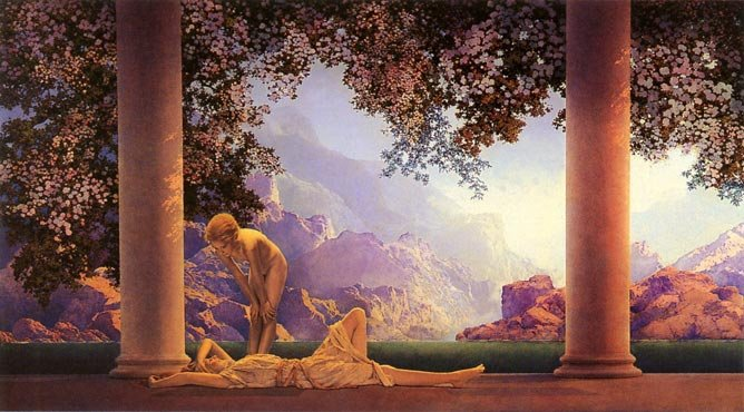 Maxfield Parrish's 'Daybreak'