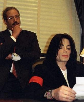 Michael Jackson sits in the Capitol Hill Office of Congressman Chaka Fattah as the two work on the safe blood for Africa campaign. Photo credit: Congressman Chaka Fattah Staff