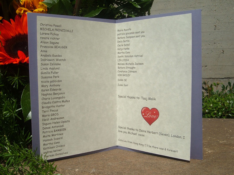 Fan-mily Names of Donors (1)