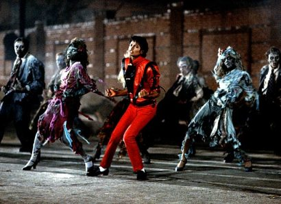 MJ dances with the living dead at Union Pacific Avenue and S. Calzona Street in LA