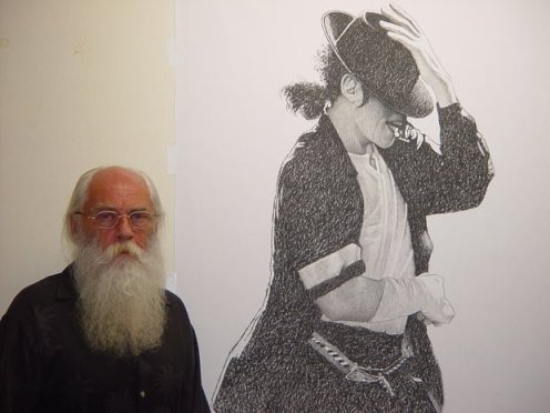David Nordahl and Sketch of Michael