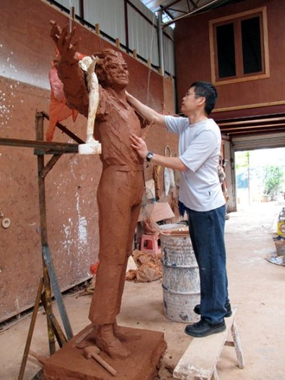 Chinese MJ Statue Prep 1