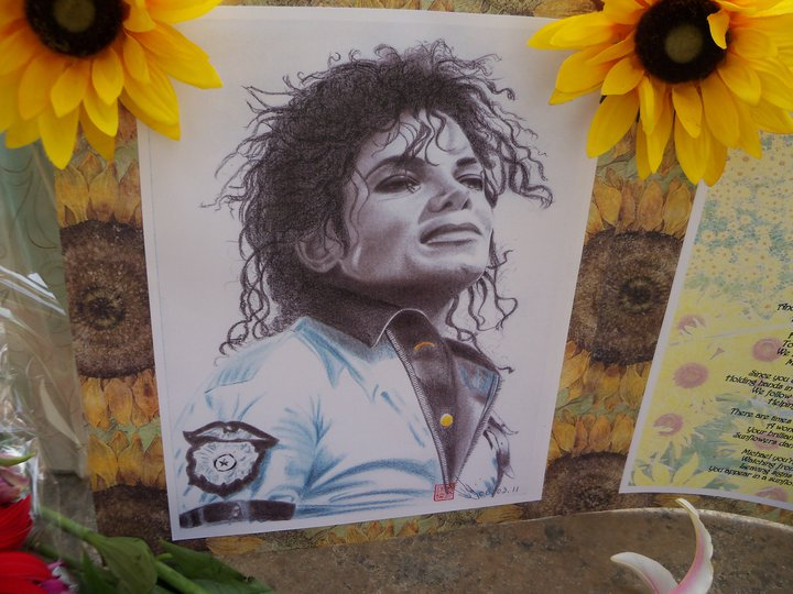 One of Eliza Lo's beautiful drawings of Michael