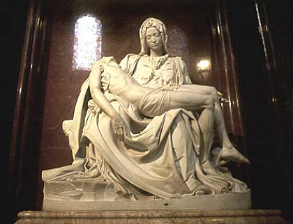 'The Pieta' by Michaelangelo