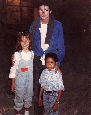 LaLa Romero, Emmanuel Lewis, and Michael