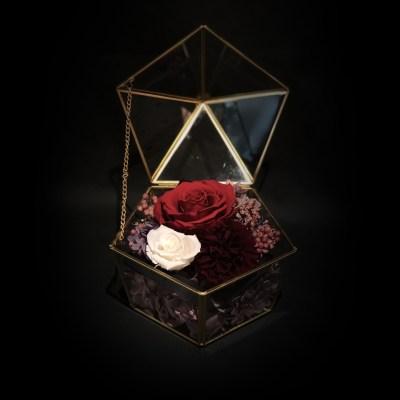 母親節永生花盒