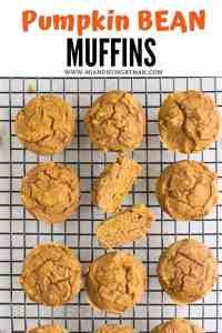 kid friendly pumpkin bean muffins