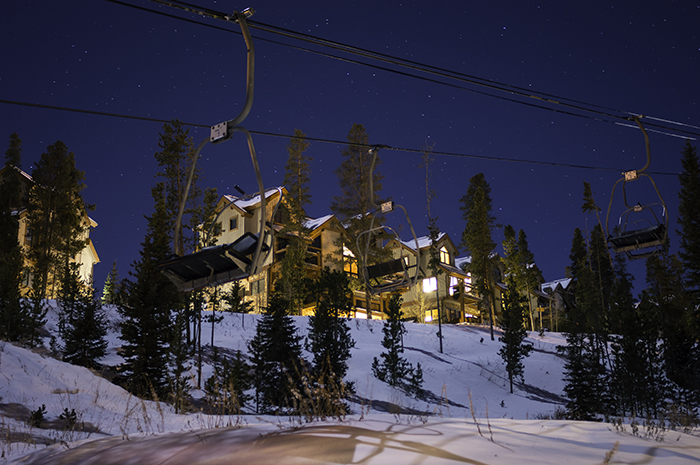 Breckenridge Snowflake Lift