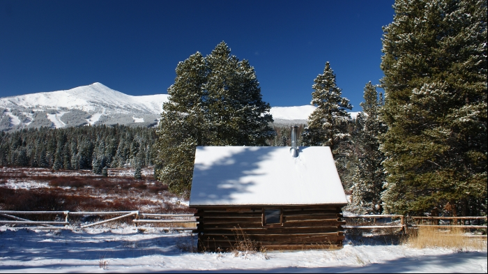Colorado Mining Cabin