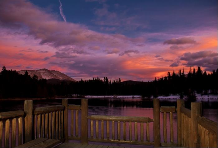 Sawmill Lake Sunset