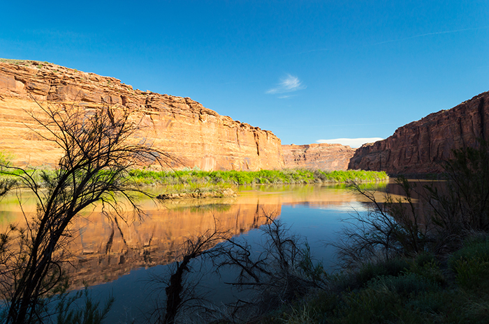 Calm Colorado River