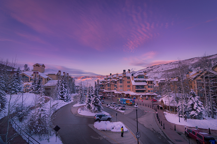 Beaver Creek Village Sunset