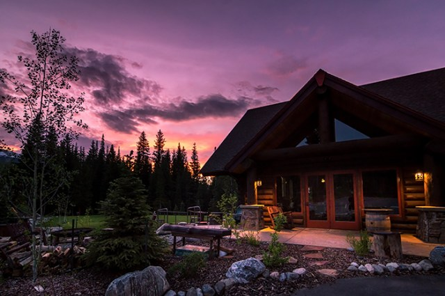 Breck Nordic Lodge Sunset