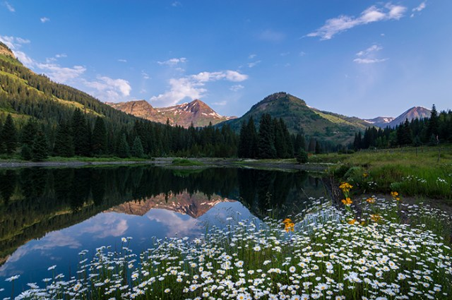 Rocky Mountains Reflection