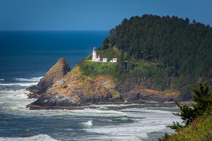 Oregon Heceta Head Light House