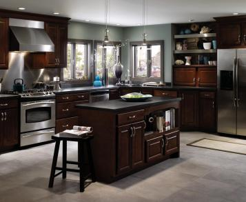 Aristokraft Sinclair Birch Kitchen Cabinets Www Sudarshanaloka Org