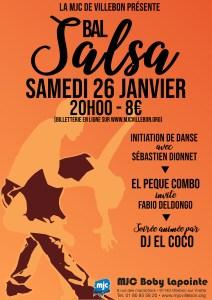 Bal Salsa @ MJC BOBY LAPOINTE