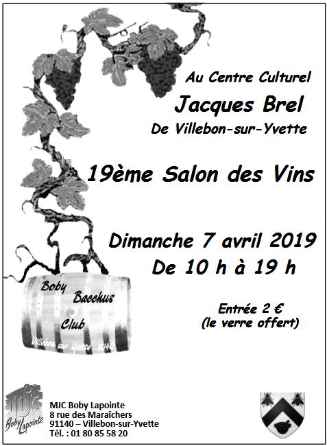 19ème Salon des Vins