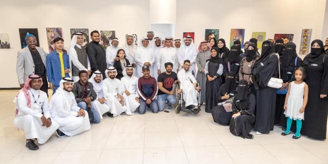 افتتاح معرض صناع الفن (جلبة) ART MAERSفي مكة المكرمة