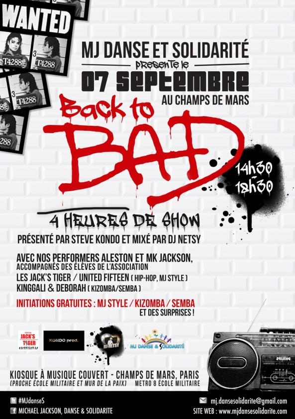 """""""Back to Bad"""" au Champs de Mars : initiations de danse gratuites !"""