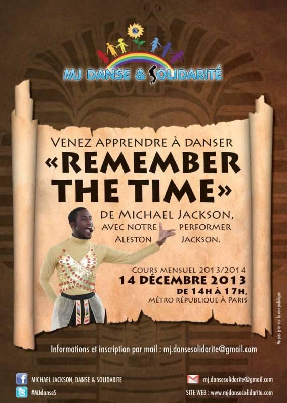 """Cours de danse sur """"Remember  the time"""""""