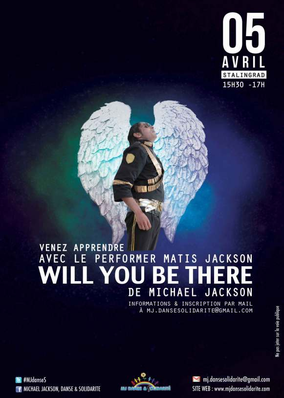 """Apprendre à danser """"Will you be there"""""""