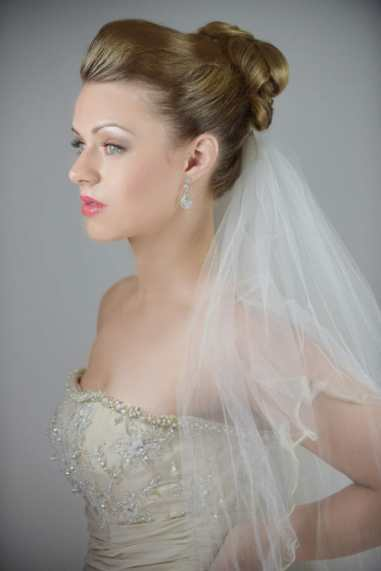hair for my wedding photo