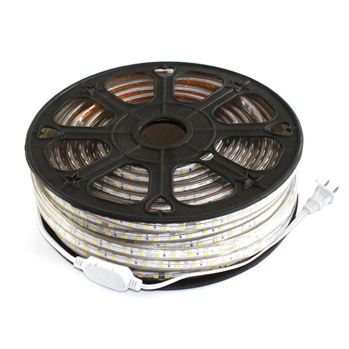 5050 led strip wiring diagram john deere 100 110v 120v 220v 230v waterproof light factory mjjcled com ac smd ultra bright