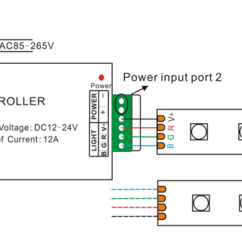 5050 Led Strip Wiring Diagram Nissan Almera N15 Wireless Rgb 44 Key Ir Remote Controller Manufacturer - Mjjcled.com