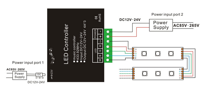 Led Beacon Wiring Diagram