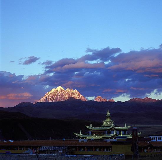中國旅遊風光圖片 - 看不盡的川西美景 - 美景旅遊網