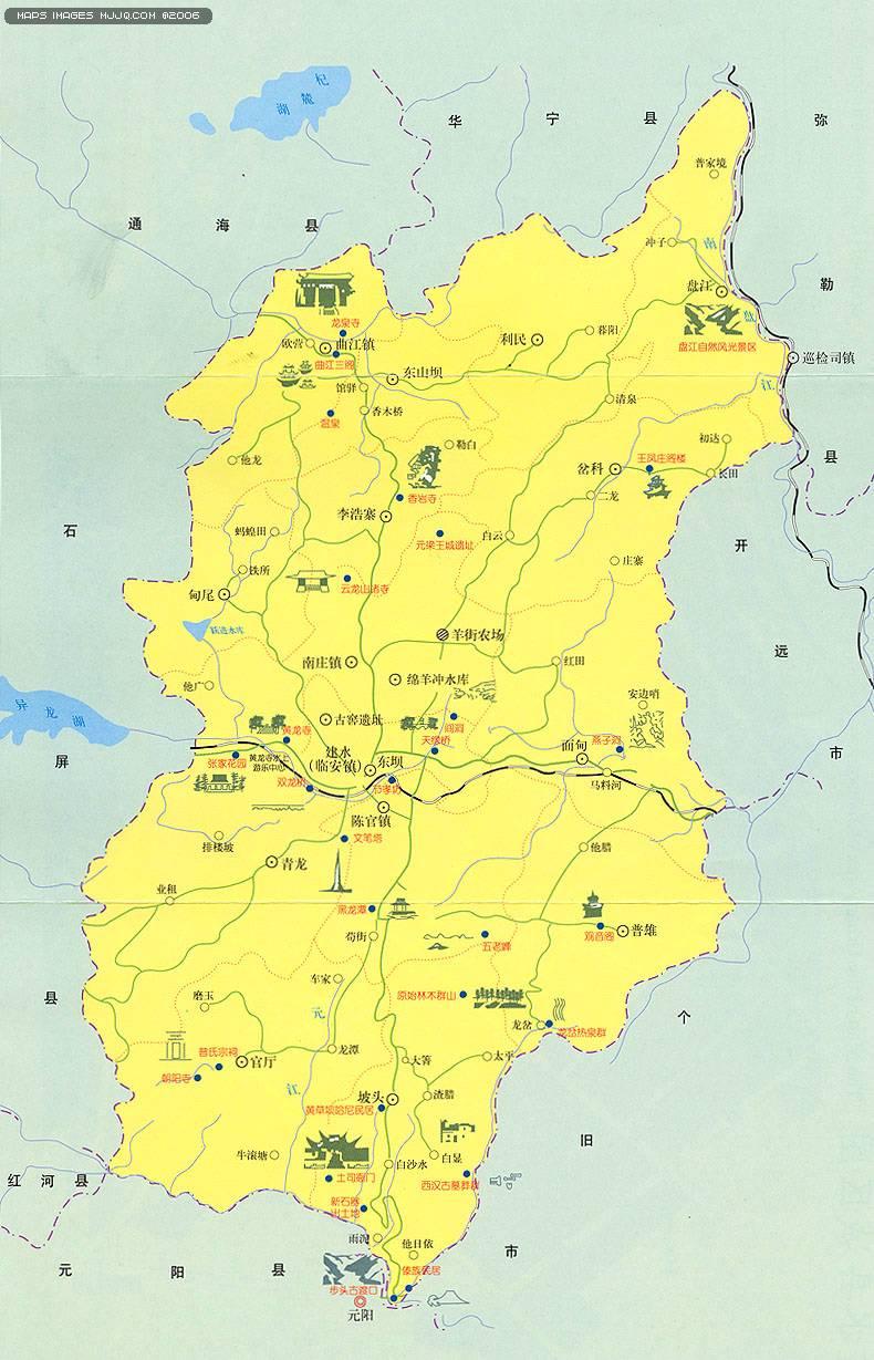 建水縣旅遊圖 - 雲南旅遊地圖 中國地圖 - 美景旅遊網