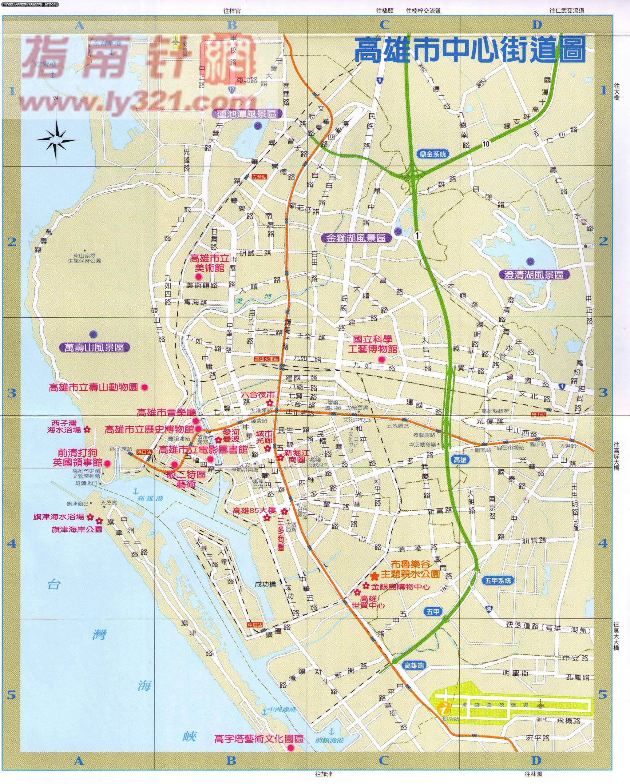 高雄地圖 google map map- 高雄地圖 google map map - 快熱資訊 - 走進時代