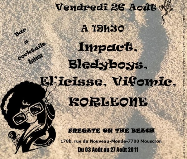 Concerts Frégate On The Beach
