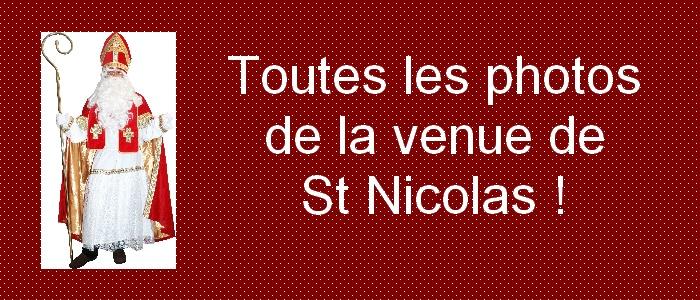 Chouette après-midi récréative avec St Nicolas !