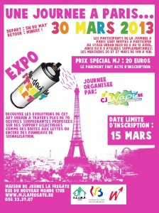 Affiche Paris - elaine