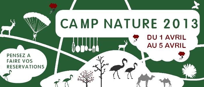Camp nature 2013