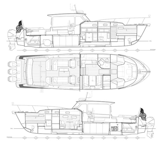 43z MJM Yachts