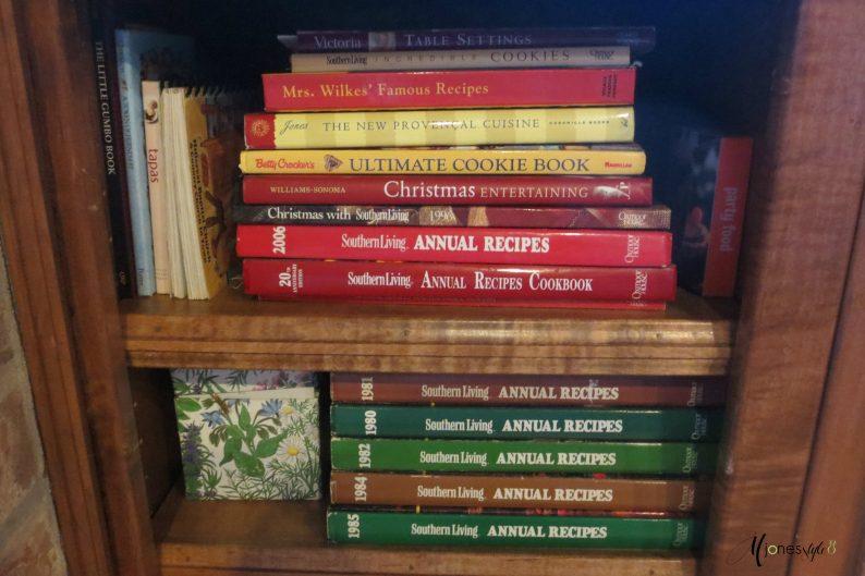 #collectionofcookbooks #cookbooks #mjonesstyle