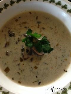 #mushroom soup