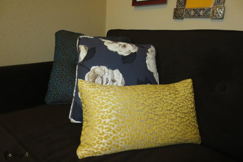 #animal print pillow