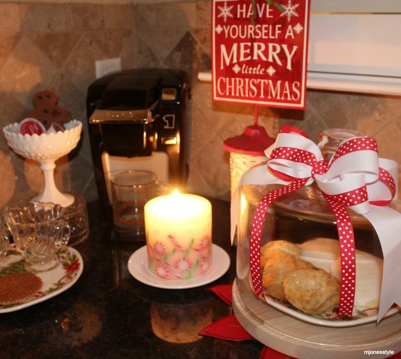 #amara #christmascoffeestation