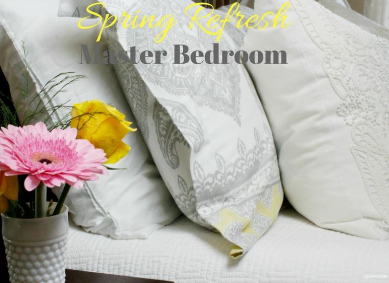 #springdecor #whitebedroomdecor #mjonesstyle #vintagebedroomdecor