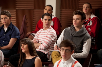 Glee Season 1 Promo Finn And Kurt Photo 25217276 - Modern