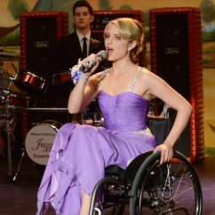 Wheelchair Glee Parson Chair Covers Etsy Season 3 Spoilers - Prom-a-saurus Episode 19 (319)