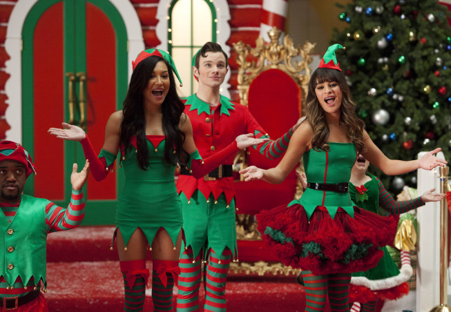 Image result for glee christmas season 5